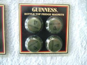 Genuine Guinness Bottle Top Fridge Magnets - Official Merchandise!