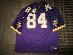 Randy Moss #84 Minnesota Vikings Nike NFL Jersey 2XL 2X Rookie NEW