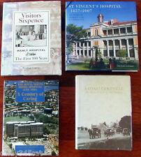Sydney Hospitals Manly Prince Henry RNS St Vincents History Disease Nursing x 4