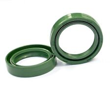 35x48x11mm Green Front Fork Oil Seals Set Motorcycle Suspension Seals