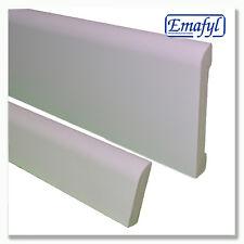 PLASTIC 100mm BULLNOSE SKIRTING BOARD & 55mm DOOR ARCHITRAVE | MULTI LISTING