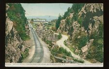 1909 Postcard Gate of Notch Railroad Cut White Mountains NH Detroit Publ. B4403
