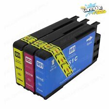 3PC Color inks for HP 950XL 951 XL OfficeJet Pro 8100 8600 8615 8625