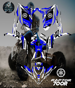 Yamaha Raptor 700-700R 2013-2020 full graphics kit sticker decals