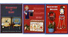Tole & Decorative Painting Lot Kountry Beads, Kountry Kist, Kountry Kalling