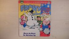 """Peter Pan Record 4-All Time Favorite Xmas Songs FROSTY & LET IT SNOW 7"""" 33RPM"""