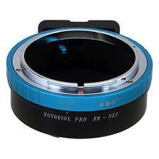 Fotodiox objetivamente adaptador pro Canon FD para lente en Sony NEX e-Mount Camera