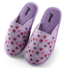 Women Bedroom Slippers Mellie Plush Thong Home Flipflop Indoor House Shoes 5_12