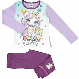GIRLS OFFICIAL POOPSIE SLIME SURPRISE UNICORN PYJAMAS AGES 4-5 up to 9-10 YEARS