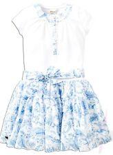 SALE SJUUL Jottum dress/jurk/kleid/robe sz 152 - 11/12 yr new blue coastal