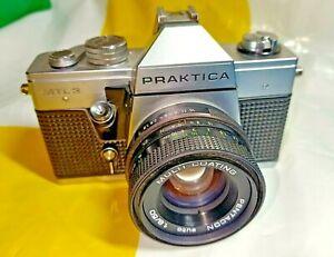 PRAKTICA MTL 3 35mm SLR Film Camera  with Pentacon auto lens 1.8/50 - Preowned