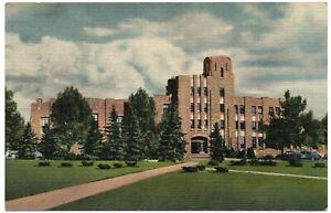 Wyoming Union Building University of Wyoming Laramie WY Vintage Postcard