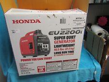 Honda EU2200I 2200W Portable Inverter Generator open box never run super quiet