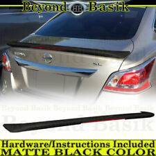 Fits ALTIMA 2013 2014 2015 Sedan MATTE BLACK Factory Style Spoiler Wing w/LED