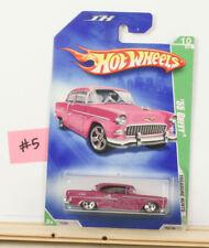 Hot Wheels Treasure Hunt '55 Chevy Pink 2009  B12