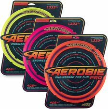 "Aerobie Pro Ring 13"" Outdoor Toy Flying Disc Aerobie Frisbee Adults - 3 Pack"