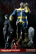 Sideshow Collectibles Marvel Thanos and Mistress Death Diorama Exclusive 600 PCS