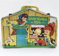 Vintage Mattel Liddle Kiddles Klub House + Violet Kiddle in Bottle Doll