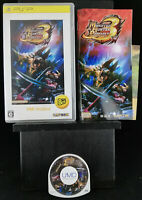 Monster Hunter Portable 3rd the Best-PSP Playstation Portable-2010-Japan Import