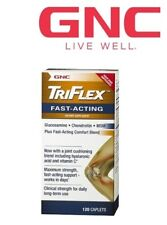 GNC Triflex Fast Acting Joint Support Health Glucosamine Chondroitin 120caps