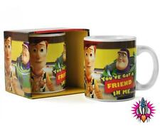 TOY STORY YOUVE GOT A FRIEND IN ME OFFICIAL DISNEY MUG COFFEE CUP NEW GIFT BOX