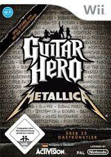 Nintendo Wii Spiel - Guitar Hero: Metallica nur Software mit OVP