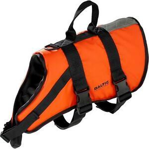 Baltic Pet Buoyancy Aid Large 15 to 40 kg Cat Dog Boat Sailing Yach Orange