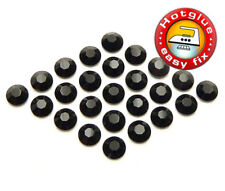 100 SWAROVSKI Kristalle Hotfix, SS5 Jet (Strass Steine Schwarz zum Aufbügeln)