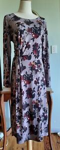 Laura Ashley Wrap Style Dress Size 14