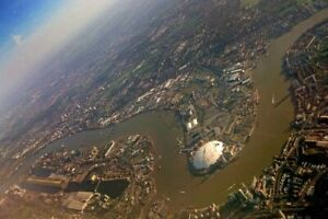 O2 Arena River Thames Greenwich Peninsula London England Photograph Picture