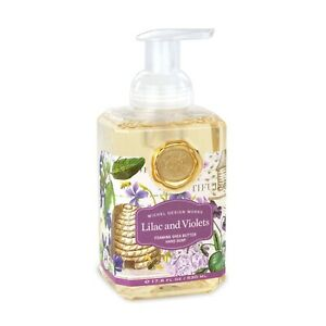 Michel Design Works Foaming Hand Soap, Lilac and Violets (FOA286)
