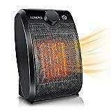 Space Heater Electric Ceramic Heater - 1500W Portable Space Heaters for Home Ind