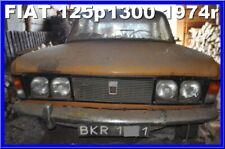 Unikatowy FIAT 125p Pierwszy właściciel 1974 1300 Zabytkowy Unique antique car