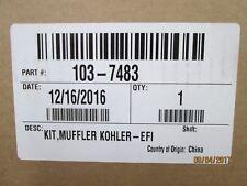 (1) OEM Exmark muffler 103-7483