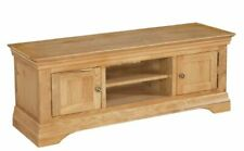 Quality Solid Oak TV Cabinet