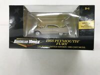 ERTL 1:64 American Muscle 1958 Plymouth Fury with Display Case New in Package