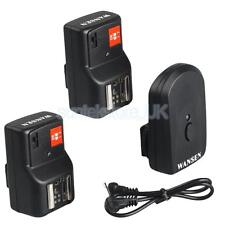 PT-04GY 4 Channels Wireless/Radio Flash Trigger +2 Receivers for Canon Nikon