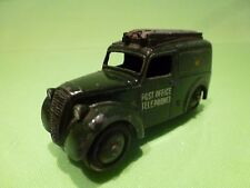 DINKY TOYS  261 TELEPHONE SERVICE VAN - GREEN 1:43? - GOOD CONDITION
