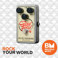 Electro-Harmonix EHX Soul Food Distortion Fuzz Overdrive Effects Pedal FX