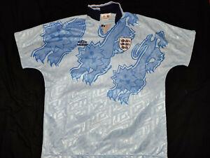 UMBRO ENGLAND THIRD FOOTBALL SHIRT 92 / 93 1992 / 1993 XL XLARGE