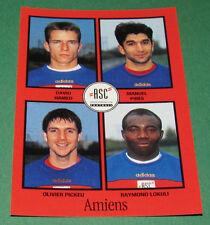 N°306 HAMED PIRES PICKEU AMIENS SC ASC D2 PANINI FOOT 97 FOOTBALL 1996-1997