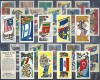 MUSGRAVE (TEA)-FULL SET- PRODUCTS OF THE WORLD (25 CARDS) - EXC+++