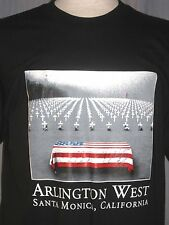 New Arlington Cemetery West Adult Large T-Shirt ( L Santa Monica California )