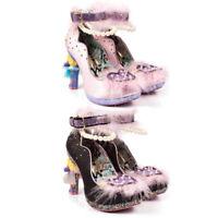 Irregular Choice All About Moi Pink Piggy High Heel Womens Shoes UK Size 3 - 8