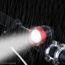 DC Power Waterproof T6 LED Bike Accessory Lamp Bicycle Light Headlamp Headlight