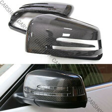 For MERCEDES BENZ W204 W176 W212 A45 C63 AMG Carbon Fiber Mirror Cover Replace