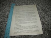 WWII 1942 Headquarters 12th Armored Division Camp Campbell Kentucky Document