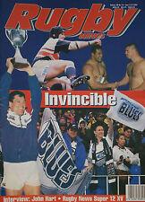 NZ RUGBY NEWS 28-14, 5 Jun 1997 Auckland Blues win Super 12, George Gregan, Zinz