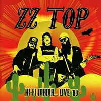 ZZ Top - Hi-Fi Mama... Live '80 (2016)  CD  NEW/SEALED  SPEEDYPOST