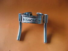Vintage Kabelschelle SACHS chrom frame clamp cable collier de tube NOS